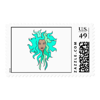 Sea Green Stamp