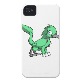 Sea Green SD Reptilian Bird Dragon iPhone 4 Case-Mate Case