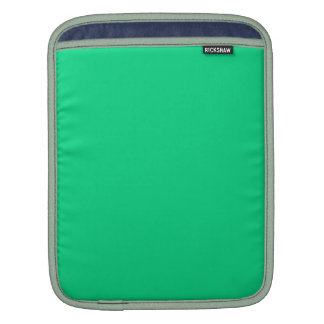 SEA GREEN (solid color) ~ Sleeve For iPads