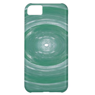 Sea Green Waves : Ovals n Rounds iPhone 5C Cases