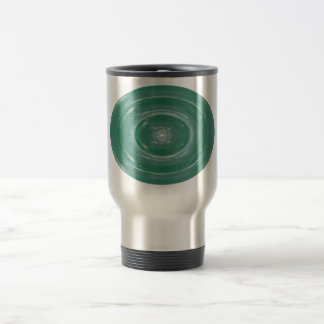 Sea Green Waves Ovals n Rounds Mugs