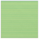 [ Thumbnail: Sea Green & Yellow Colored Lines Fabric ]