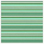 [ Thumbnail: Sea Greens, Beige, Dark Green & Aquamarine Fabric ]