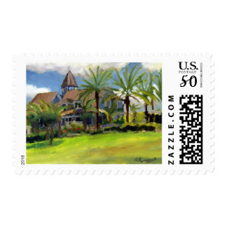 Sea Gull Cottage postage stamp