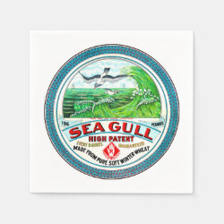 Sea Gull High Patent Flour Paper Napkin