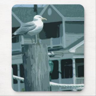 sea gull mouse pad