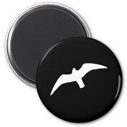 Sea gull seagull fridge magnets