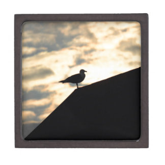 Sea Gull Sunset Keepsake Box