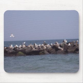Sea Gulls Mouse Pad