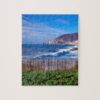 Sea Half Moon Bay California Jigsaw Puzzles
