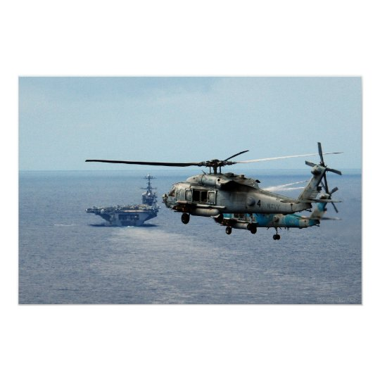Sea Hawk Helicopters Poster