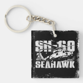 Sea hawk Square (double-sided) Keychain