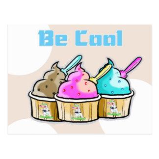sea helado fresco postales