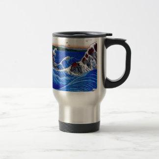 Sea, Hiroshige 歌川広重 Travel Mug