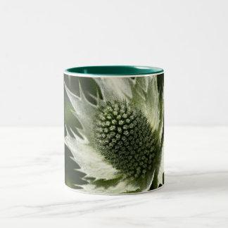 Sea Holly Two-Tone Coffee Mug