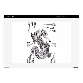 """Sea Horse 15"""" Laptop Skin"""