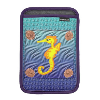 Sea Horse And Limpet Shells Sleeve For iPad Mini