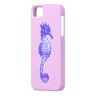 Sea Horse Art for Seahorse-lovers iPhone SE/5/5s Case