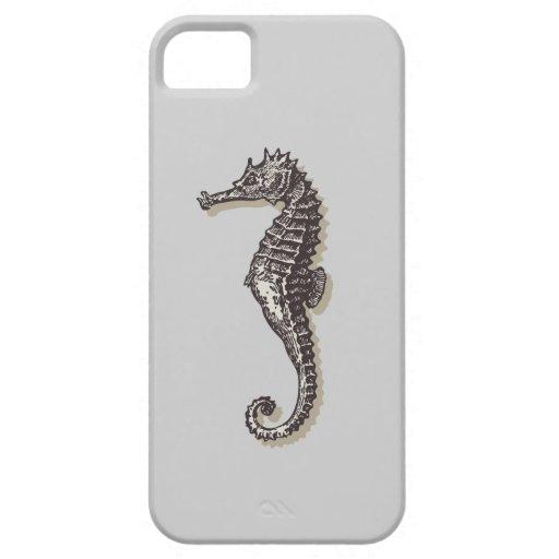 sea horse art vo2 iPhone 5 cases