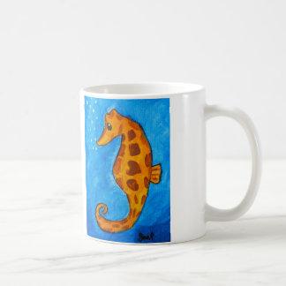 Sea Horse by Joel Anderson Classic White Coffee Mug