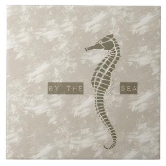 Sea Horse By the Sea Ceramic Tile