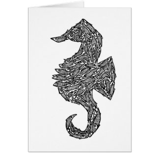 SEA HORSE CARD