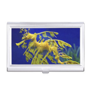 Sea horse business card holders cases zazzle sea horse case for business cards colourmoves