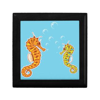 Sea Horse color Gift Box