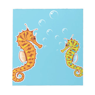 Sea Horse color Notepad