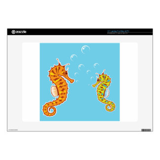 """Sea Horse color Skin For 15"""" Laptop"""