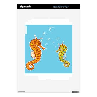 Sea Horse color Skin For The iPad 2