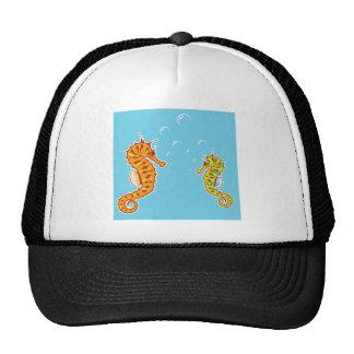 Sea Horse color Trucker Hat