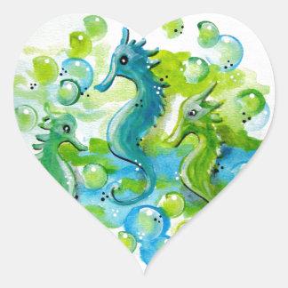 Sea Horse Design Sticker