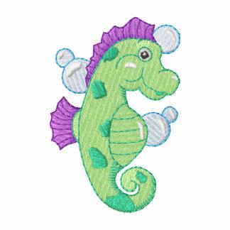 Sea Horse Embroidered Polo Shirt