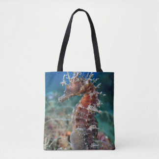 Sea Horse   Hippocampus Ramulosus Tote Bag