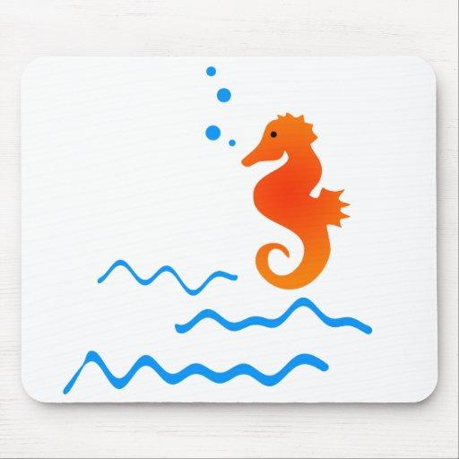 Sea Horse Mouse Mats