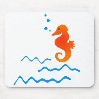 Sea Horse Mouse Pad
