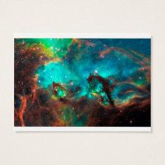 Sea Horse Nebula Business Card at Zazzle