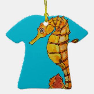 Sea horse ceramic T-Shirt decoration