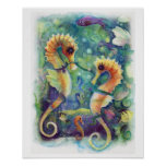 Sea Horse Poster