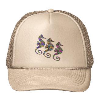 Sea horse Rainbow Trucker Hat