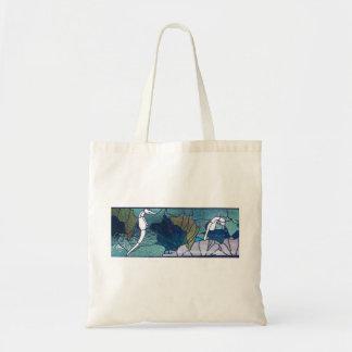 Sea Horse Reusable Shopping Bag Tote Bag