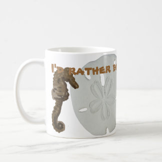 Sea Horse Sand Dollar Coffee Mug