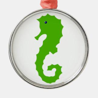 Sea-horse sea horse metal ornament