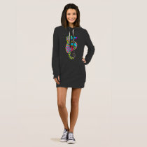 Sea Horse Spirit Hoodie Dress