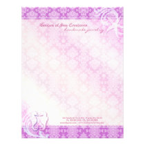 Sea Horse & Starfish Jewelry Business Letterhead