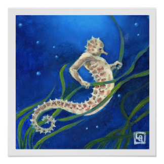 Sea Horseman Poster
