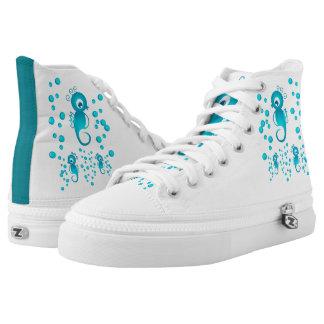 Sea horses High-Top sneakers