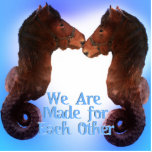 Sea Horses Made for Each Other Cut Out