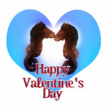 Sea Horses Made For Each Other  Valentine Cut Outs